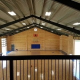 Hawks Electric - Commercial - Basket Ball Court