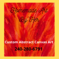 Home Made Art By Her | Stephanie Fields | Custom Abstract Canvas Art